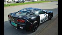 Chevrolet C7 Corvette Stingray ispirata alla Saleen Mustang della polizia