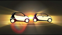 smart fortwo e forfour, il teaser