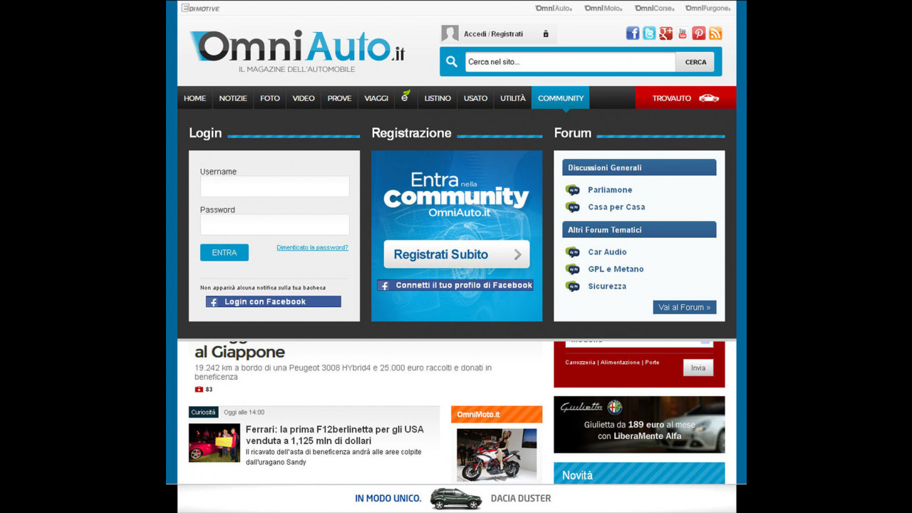 La Community di OmniAuto.it