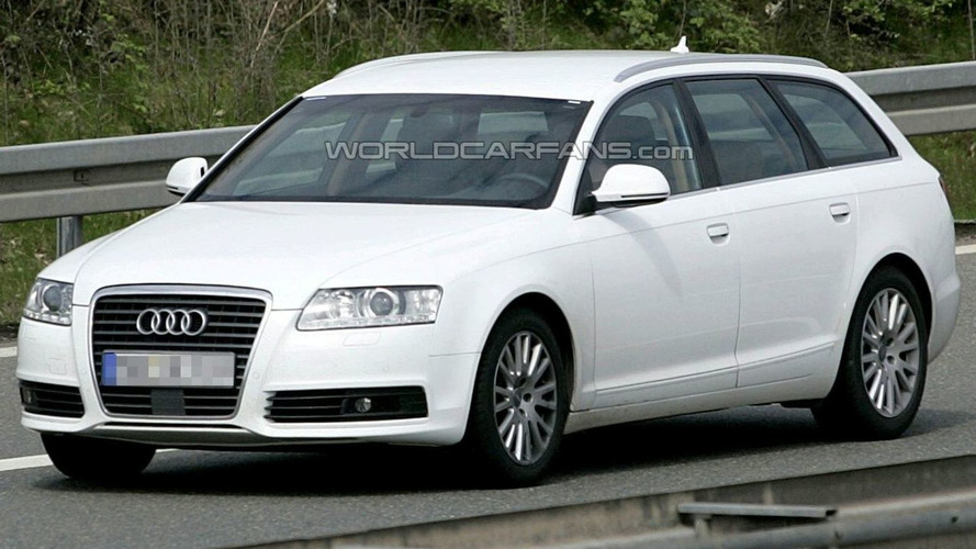 Audi A6 Facelift Caught Undisguised