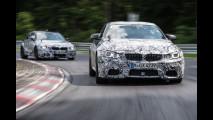 BMW M3 Berlina ed M4 Coupé, la tecnica