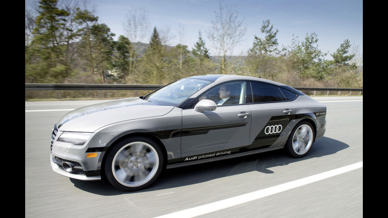Audi A7 Sportback piloted driving concept