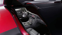 Mercedes-Benz SLS AMG Gullwing interior - hi res