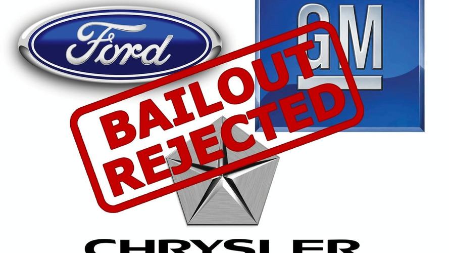 Auto Bailout Rejected After Senate Vote