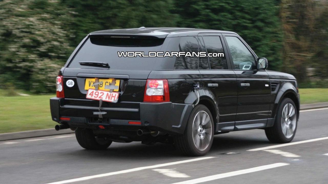 Range Rover Sport facelift spy photos