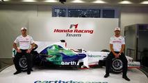 RA108, Rubens Barrichello, Jenson Button