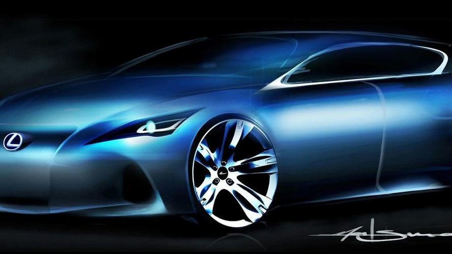Lexus teases premium compact concept for Frankfurt