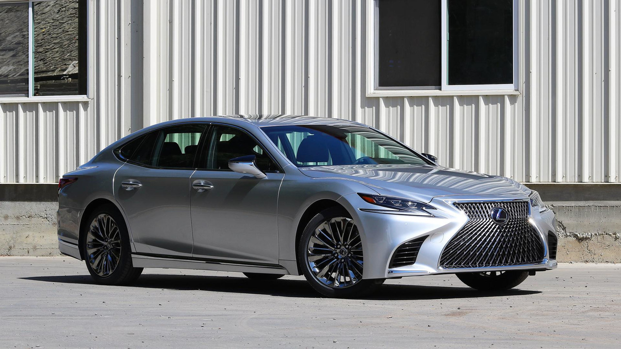 2018 lexus ls 500 first drive photos. Black Bedroom Furniture Sets. Home Design Ideas