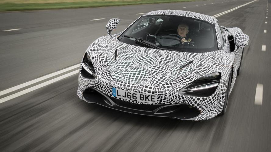 McLaren dévoile un mulet de la BP23 !