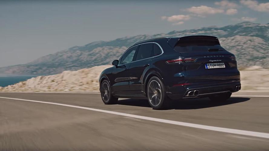 VIDÉO - Le nouveau Porsche Cayenne Turbo fait vrombir son V8
