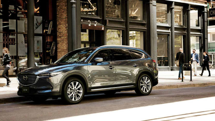 Mazda CX-8 Three-Row SUV Now Available in Japan