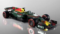 Aston Martin Red Bull Racing livery fantasy render