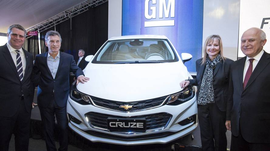 GM irá anunciar produção de novo modelo na Argentina no dia 12 de outubro