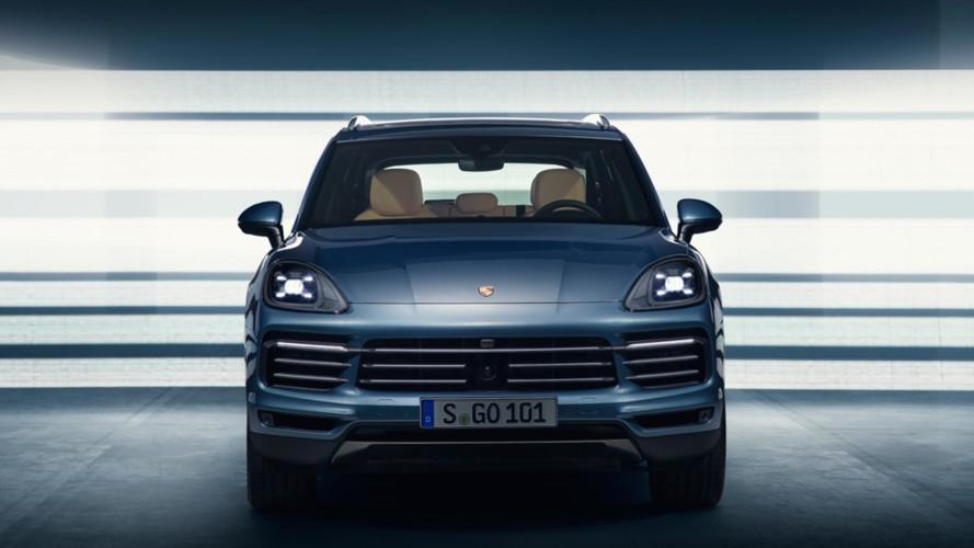 2018 Porsche Cayenne sızan resmi fotolar