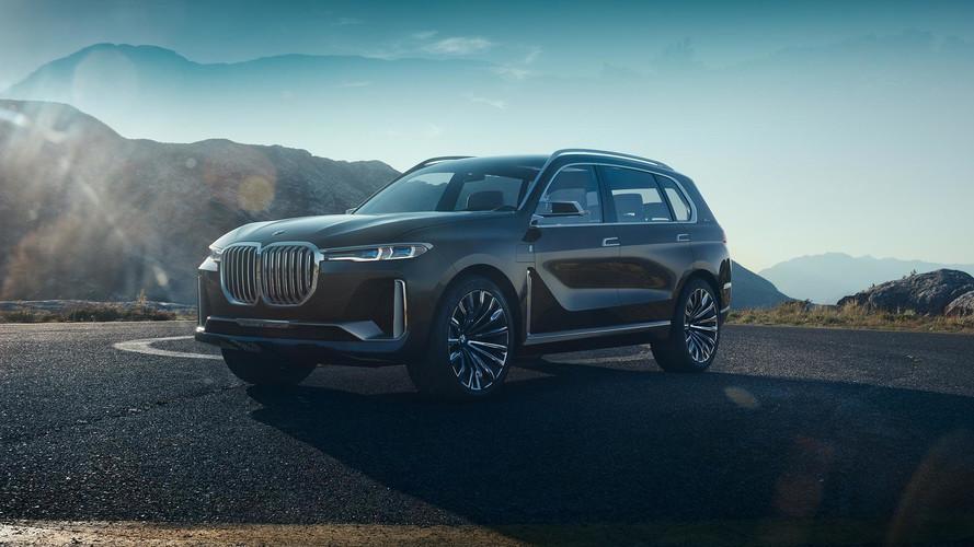 BMW X7 iPerformance konsepti resmen tanıtıldı