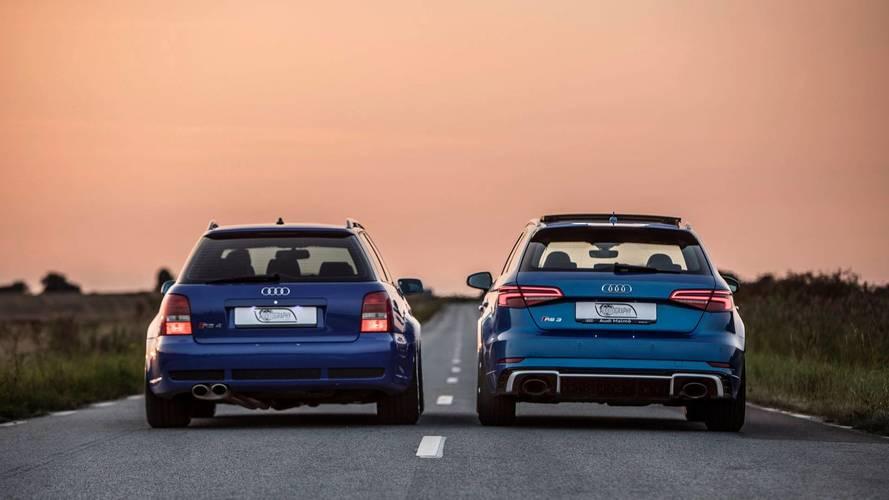2018 Audi RS3 Sportback Vs. 2001 Audi RS4 Avant