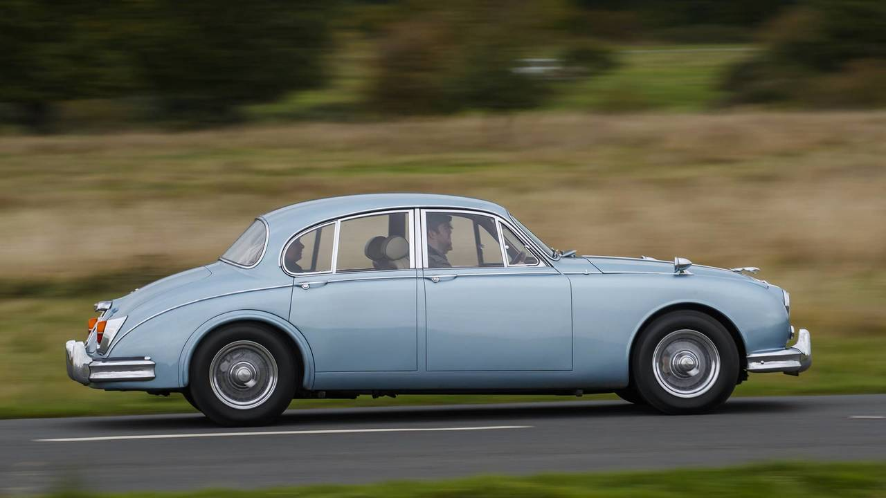 Jaguar MKII Jaguar Land Rover Classic Drive Eastnor Castle