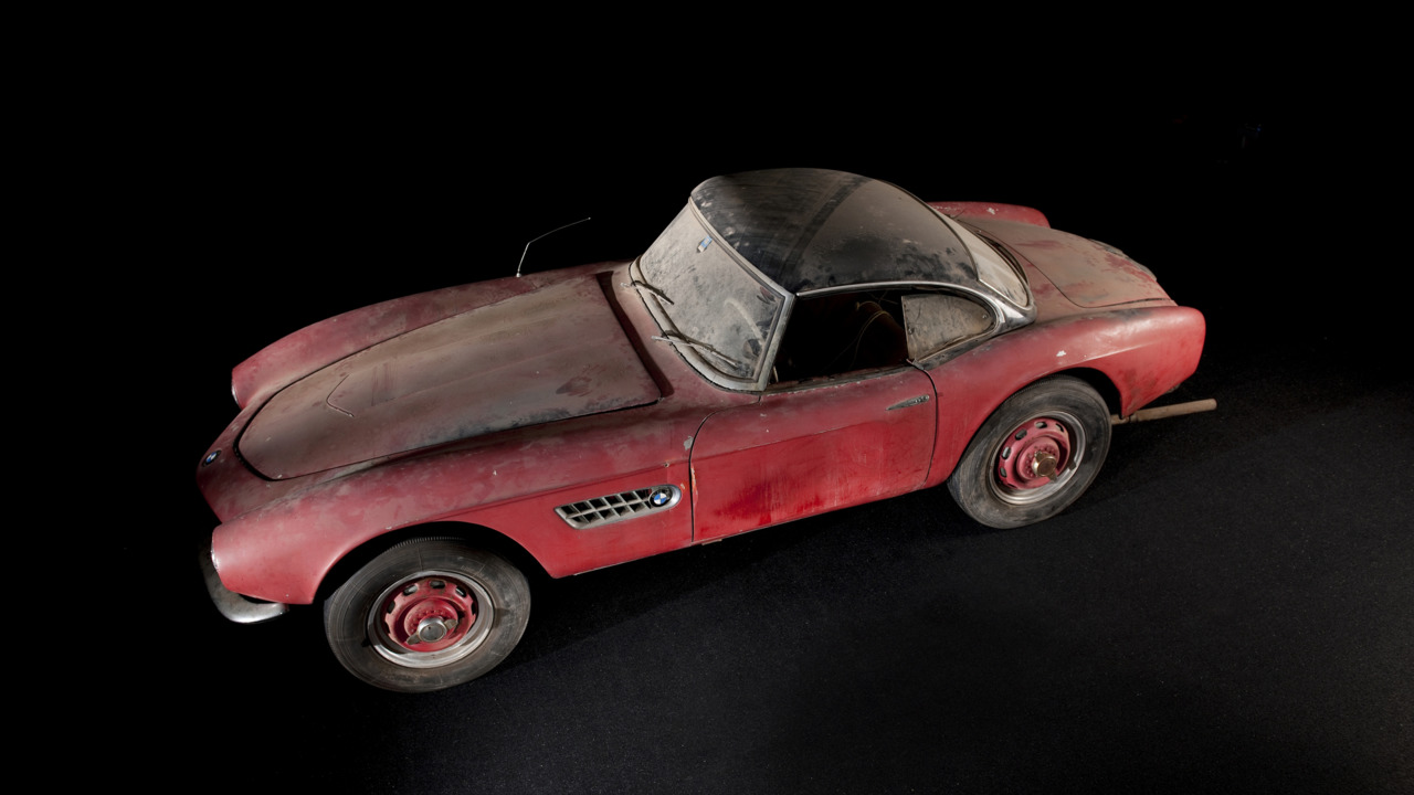 Elvis BMW 507 unrestored