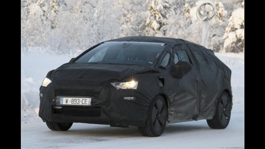 Erwischt: Citroën arbeitet am DS5
