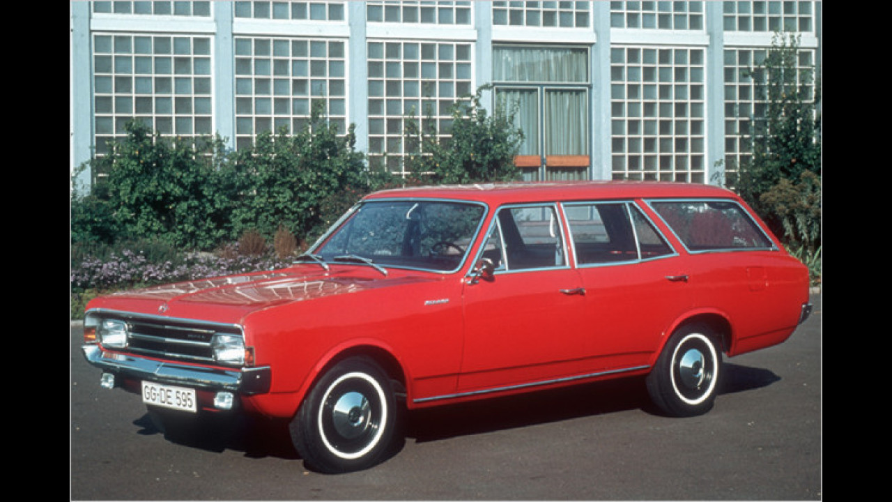 Opel Rekord C Caravan (1966)