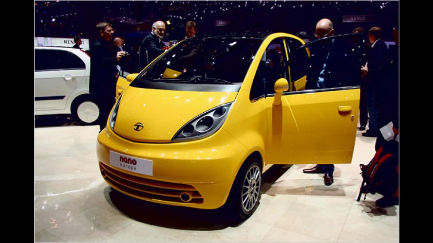 Tata Nano: Das billigste Auto der Welt kommt nach Europa