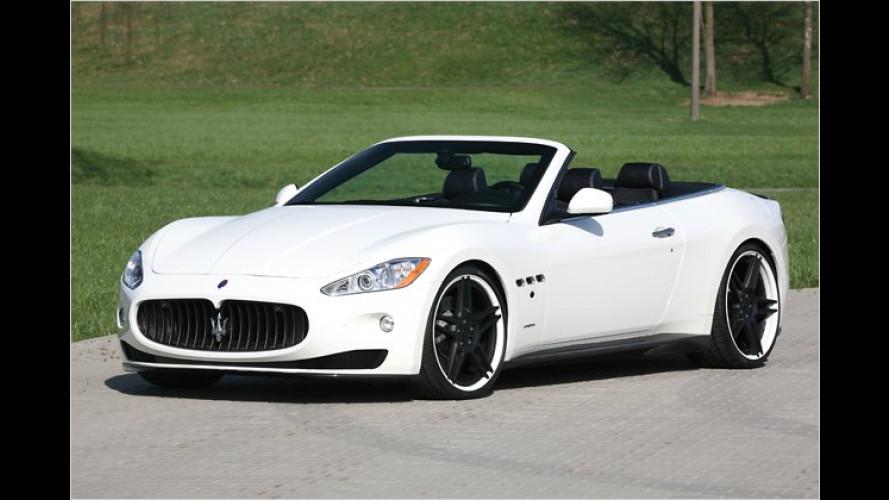 Volle Ladung: Maserati GranCabrio von Novitec
