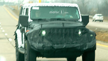 2018 Jeep Wrangler Spy Shots