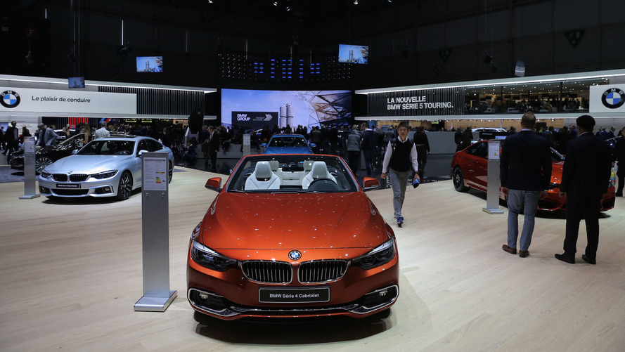 2017 BMW 4 Series Facelift Geneva