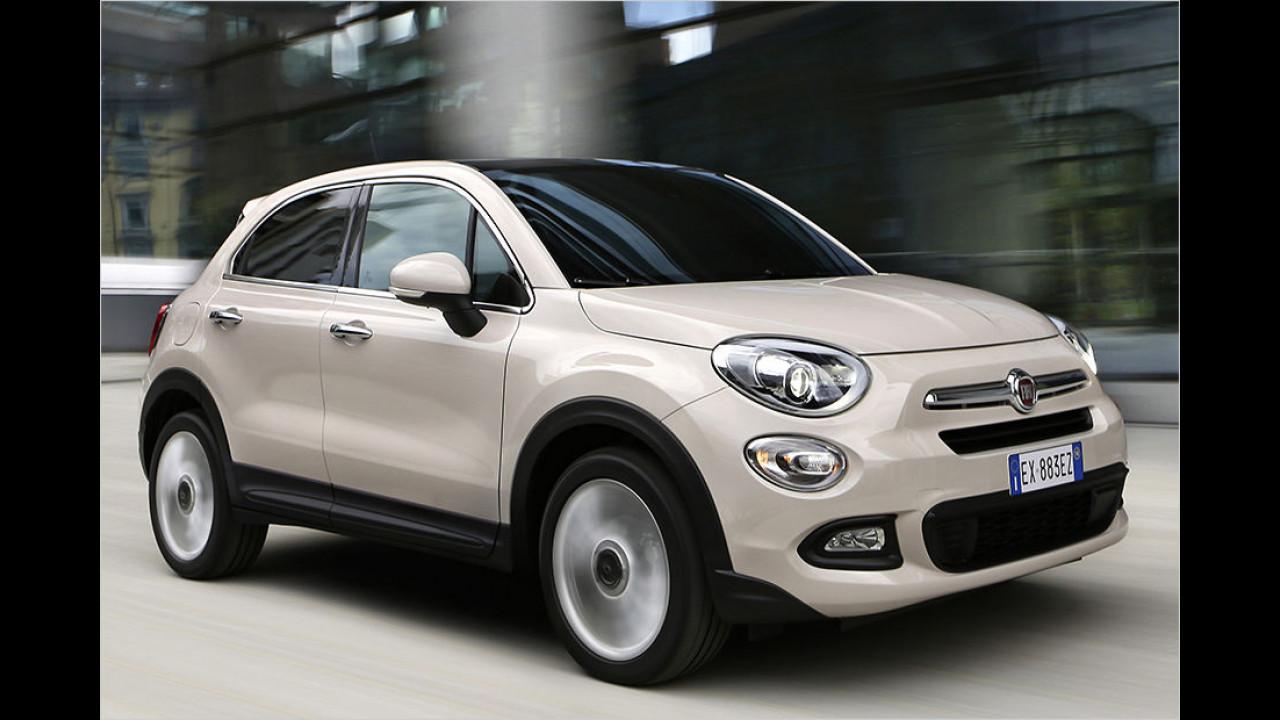 Platz 4: Fiat 500X 1.3 Multijet 4x2 (ab 18.990 Euro)