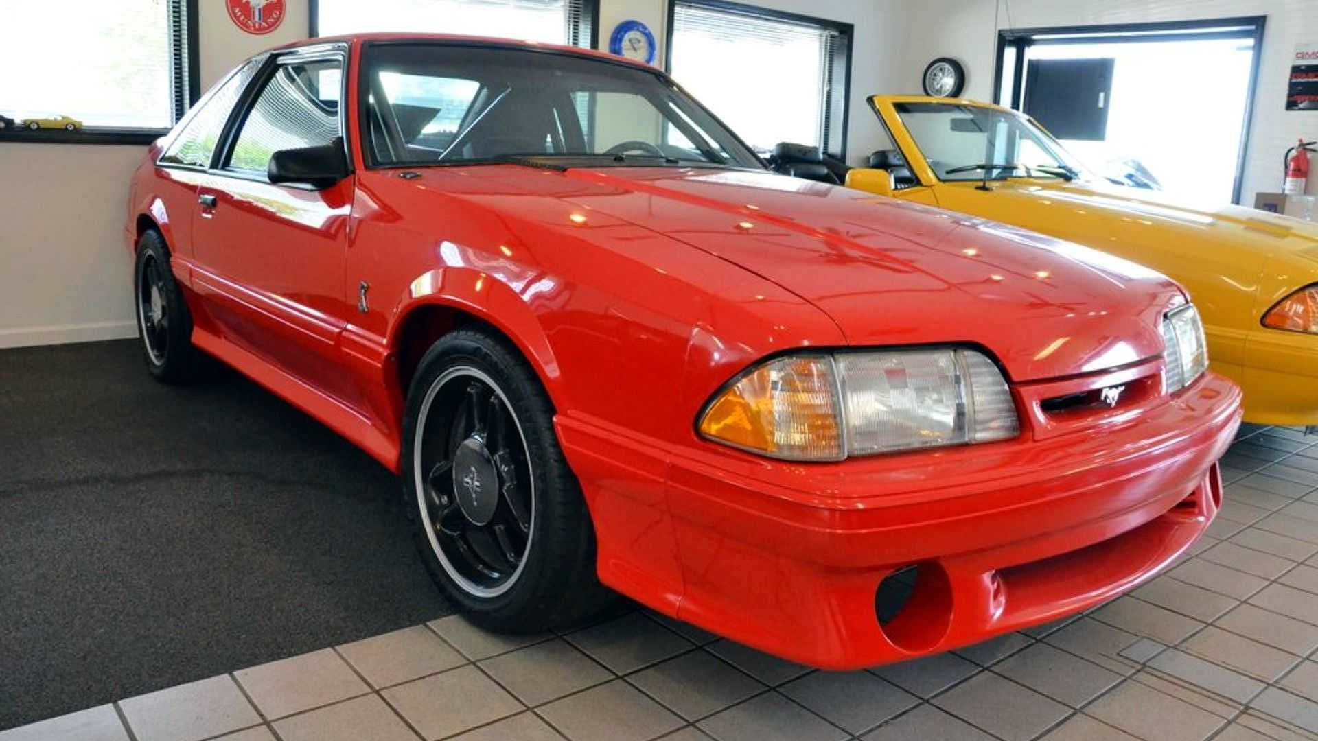 this rare mustang cobra r prototype should have been destroyed. Black Bedroom Furniture Sets. Home Design Ideas