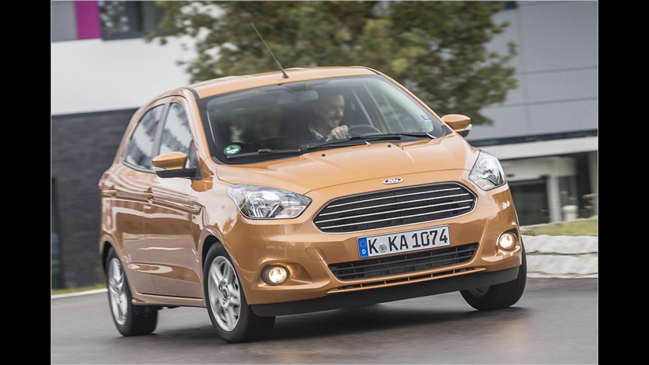 Kleinstwagen: Ford Ka als stärkster Gewinner