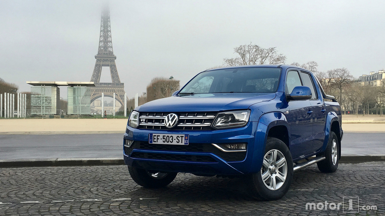 essai volkswagen amarok 3 0 v6 tdi le nouveau chic. Black Bedroom Furniture Sets. Home Design Ideas
