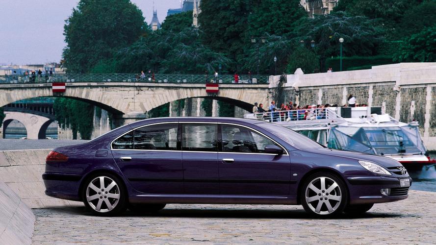 Limousines présidentielles - La Peugeot 607 Paladine