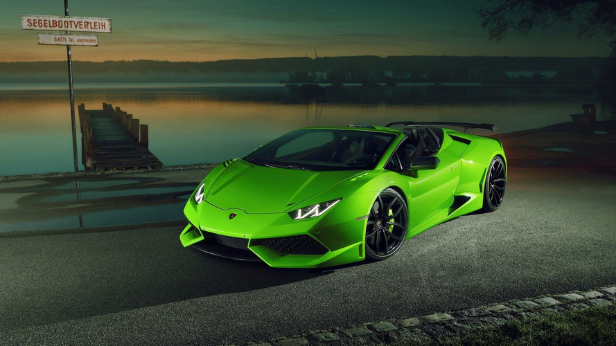 Lamborghini Huracan Spyder Widened And Supercharged By Novitec