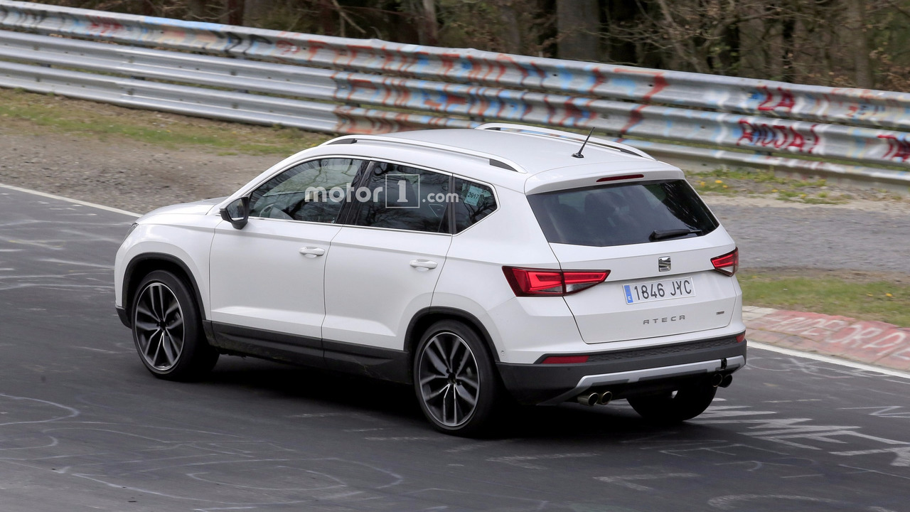 2018 seat ateca cupra spy photo photo. Black Bedroom Furniture Sets. Home Design Ideas