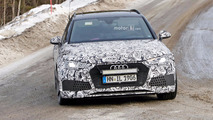 Audi RS4 Avant Spy Shots