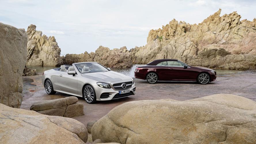 Mercedes dévoile officiellement sa Classe E cabriolet