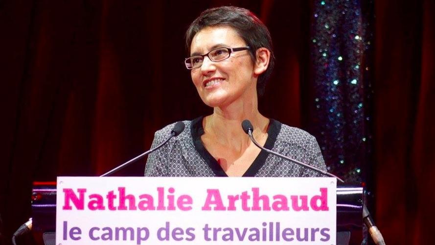 Présidentielles 2017 – Nathalie Arthaud et l'automobile