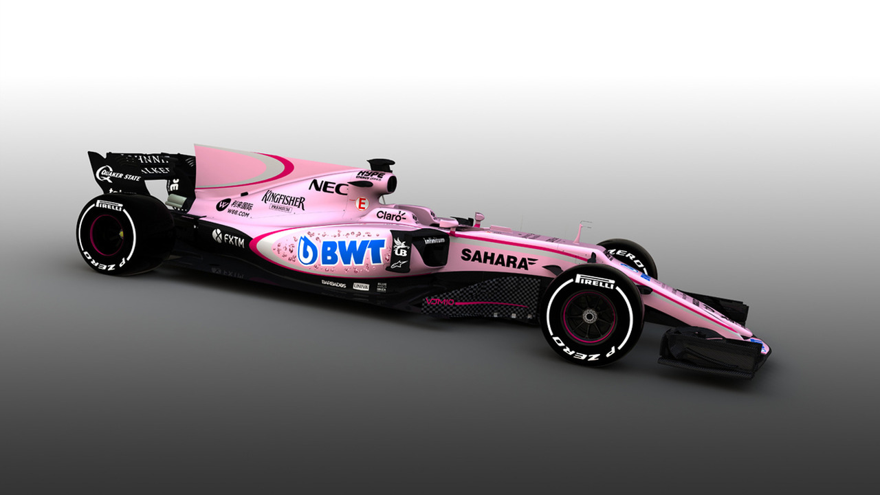 2017 Sahara Force India Formula 1 car