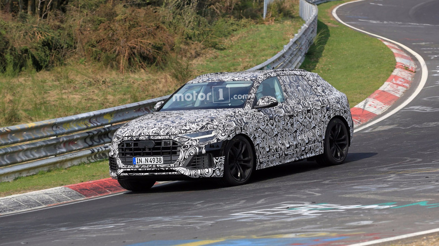 Audi Q8 Is Spied Turning Laps At The Nurburgring