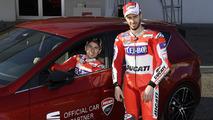 Dovizioso et Lorenzo ambassadeurs chez SEAT