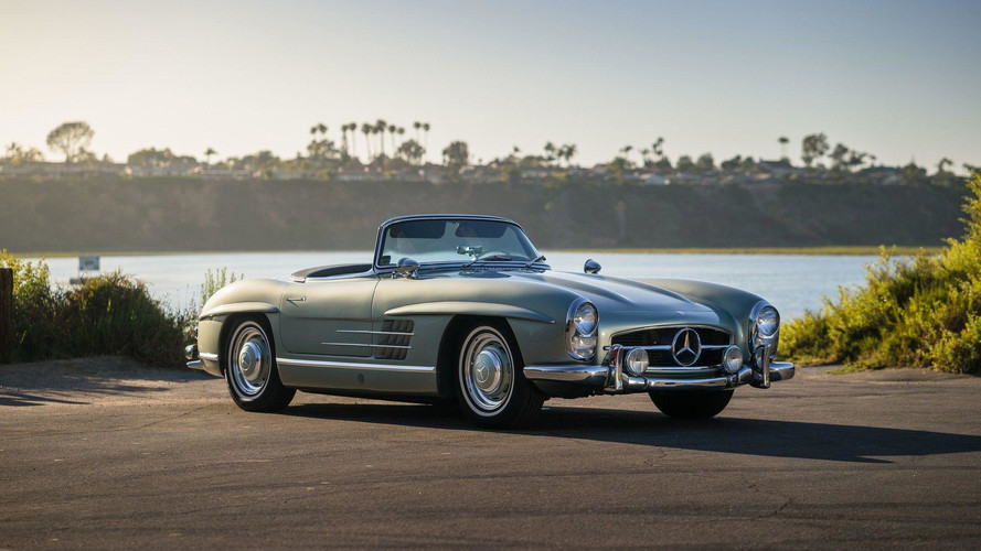 Mercedes-Benz 300 SL Roadster de 1960