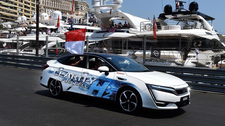 Monaco Prensi Albert Honda Clarity FCV kullandı