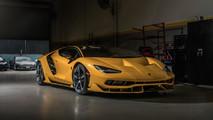 Lamborghini Centenario amarillo
