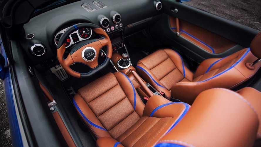 Vilner offre un très bel intérieur à cette Audi TT MK1