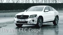 Teaser du Mercedes GLC Coupé