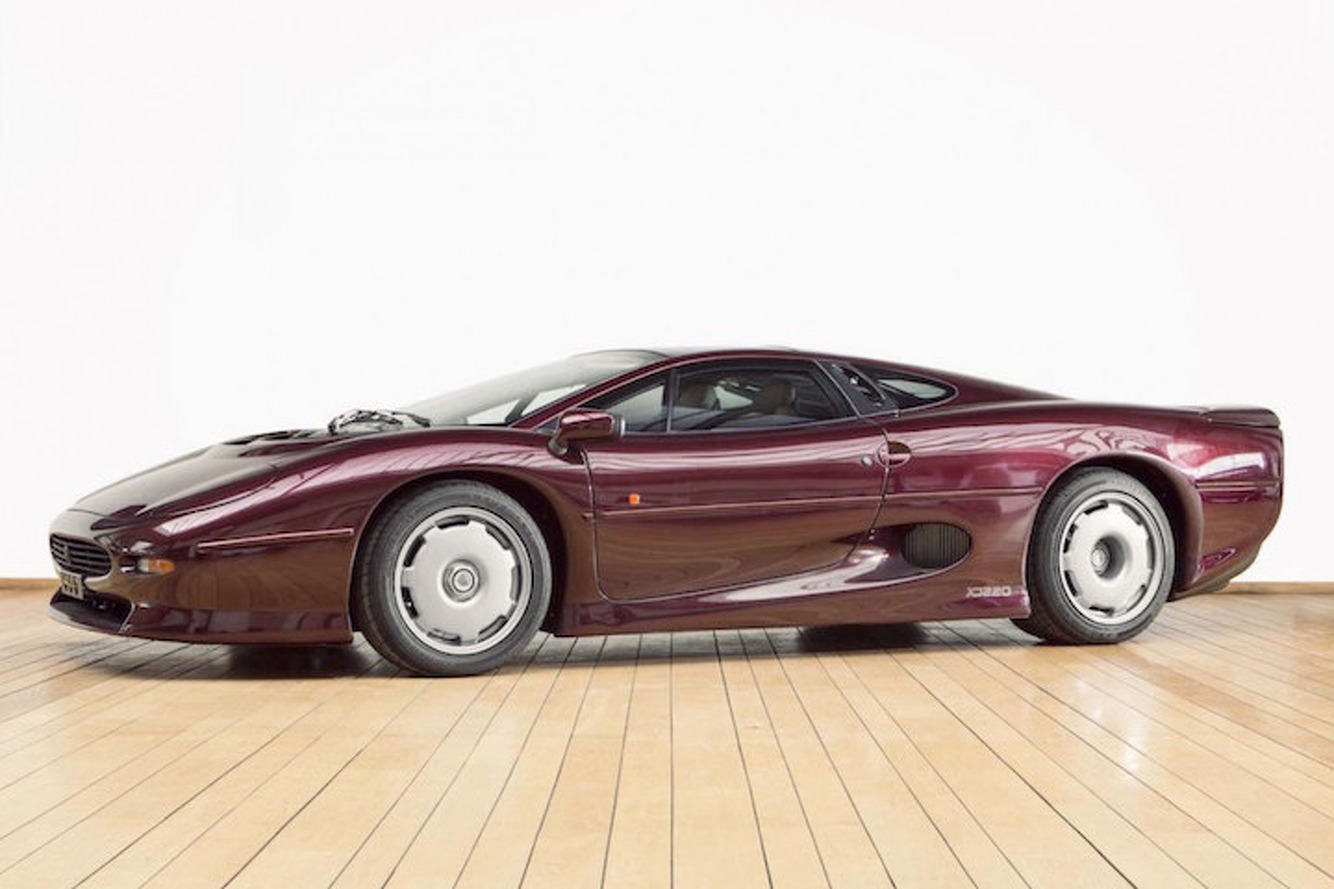 You Know You Want This Beautiful Jaguar XJ220