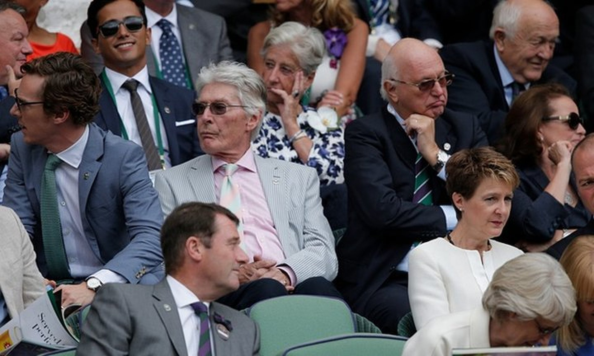 Lewis Hamilton Got Turned Away from Wimbledon