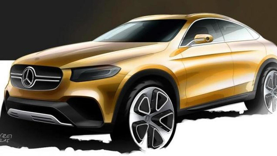 Mercedes-Benz GLC Coupe study to debut on Monday