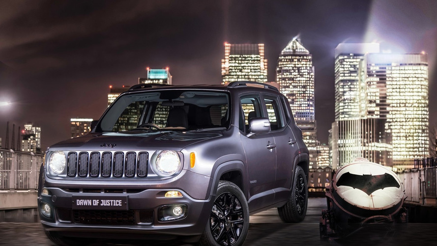 Jeep UK targets comic book fans with Renegade Dawn of Justice